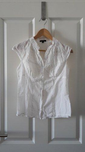weiße Bluse aus Baumwolle
