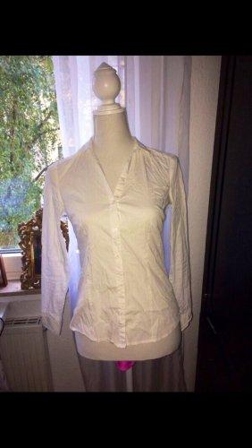 Weiße Bluse Baumwolle 34 wie neu
