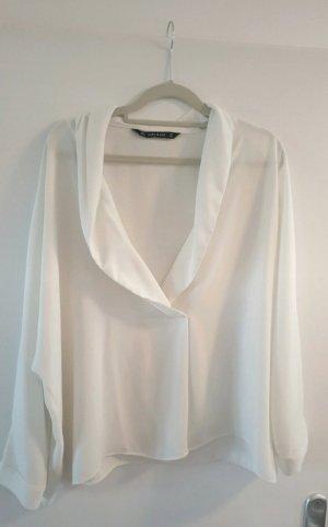weiße Bluse // Bluse