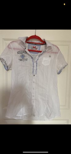 Soccx Short Sleeved Blouse white