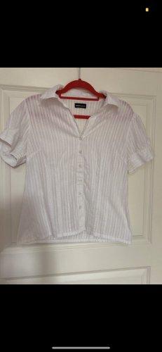 FlashLights Short Sleeved Blouse white