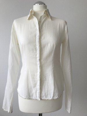 DAY Birger et Mikkelsen Long Sleeve Blouse white-sand brown cotton