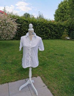 Gina Benotti Short Sleeved Blouse white