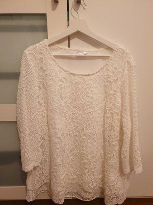 weiße Bluse Gr 52