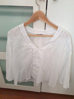 Weiße Bluse Gr S