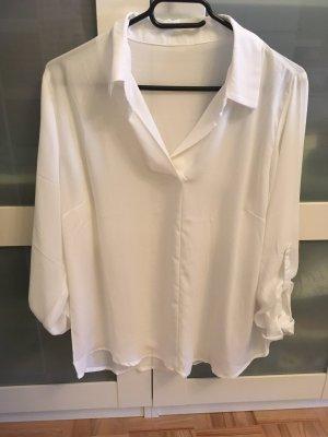 Weiße Bluse, Gr: S