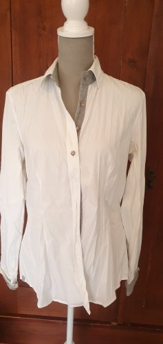 Caliban Blouse-chemisier blanc
