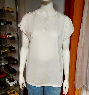 Weiße Bluse Größe 40