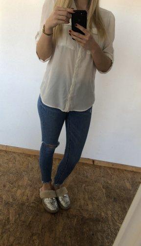 Weiße Bluse, H&M