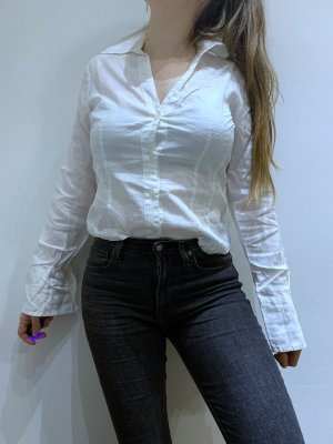 Weiße Bluse/Hemd Sisley