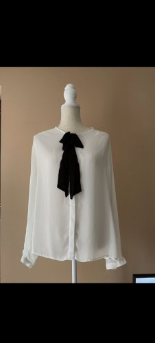 Weiße Bluse in Größe XS