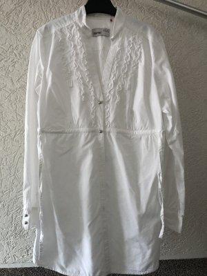 Weiße Bluse (lang) Gr. 38 von Esprit