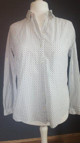 Weiße Bluse mit kleinen Sternchen