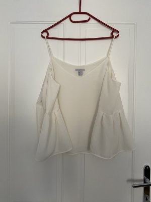 H&M Long Sleeve Blouse white