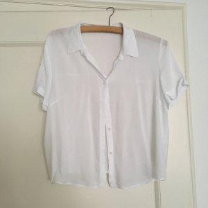Weiße Bluse Pull&Bear M 38