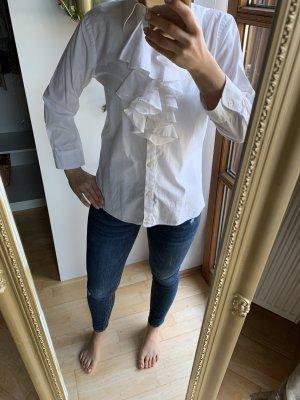 Weiße Bluse, Ralph Lauren, Baumwolle