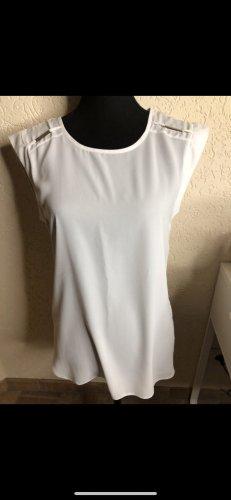 Weiße Bluse S M 36/38 neu yessica sommerlich Oberteil T-shirt  für jeden Anlass