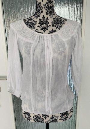 Weiße bluse/tunika