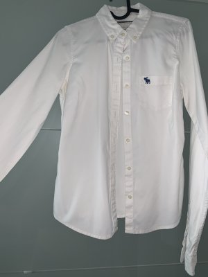 Abercrombie & Fitch Blouse Collar white