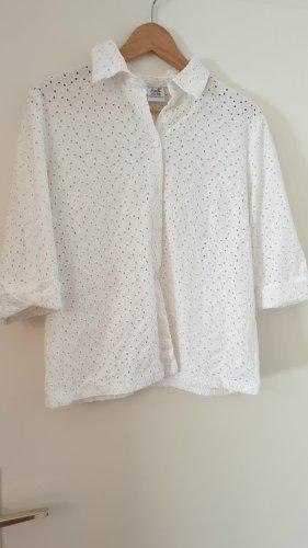 Alba Moda Camicetta a maniche lunghe bianco