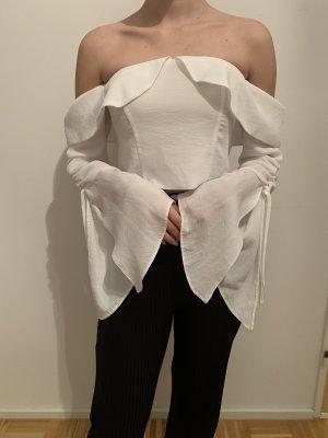 Weiße Bluse von ASOS, Gr. 36