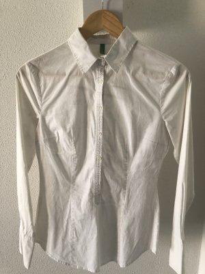 Weiße Bluse von Benetton