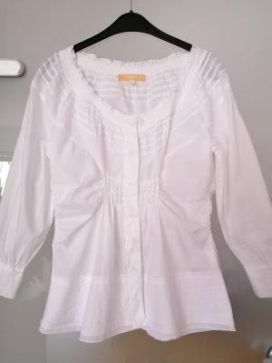 Biba Tradycyjna bluzka biały