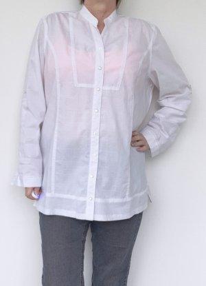 Cecil Long Sleeve Blouse white cotton