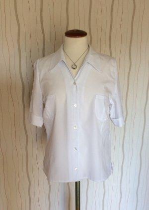 weiße Bluse von Delmod Größe M