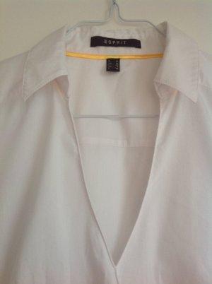 Weiße Bluse von Esprit, Gr. 36