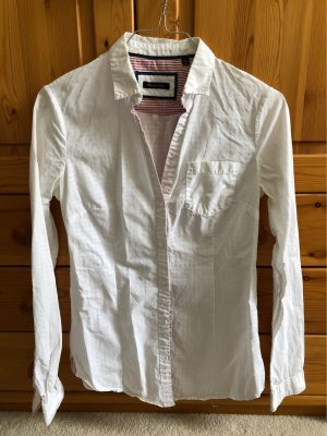 Weiße Bluse von Massimo Dutti