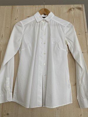 Weiße Bluse von Massimo Dutti in 38