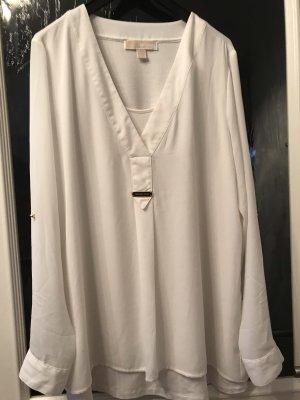 Weiße Bluse von Michael Kors