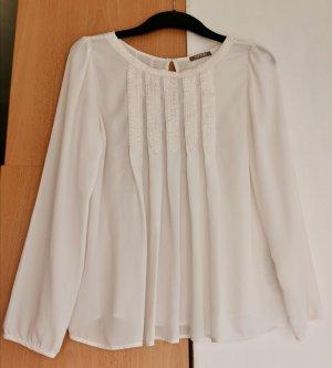 Weiße Bluse von Orsay