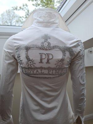 Philipp Plein Camicetta a maniche lunghe bianco