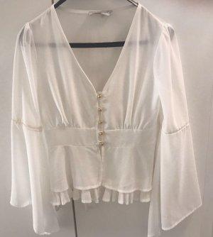 weiße Bluse von Rinascimento