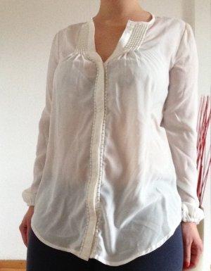 weiße Bluse von UNITED COLORS OF BENETTON