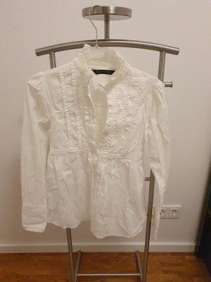 weiße bluse von Zara Gr. S