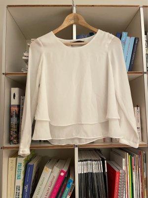 Weiße Bluse XS