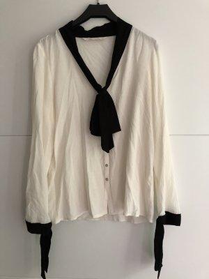Weiße Bluse Zara