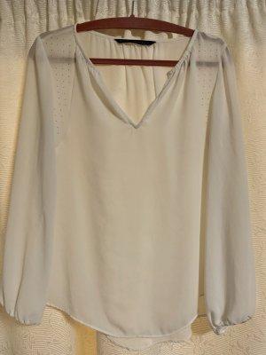 Weiße Bluse Zara Gr: S