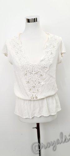 Weiße Bluse/ Zara / Größe M
