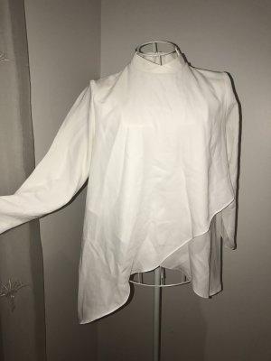 Weiße Bluse ZARA S