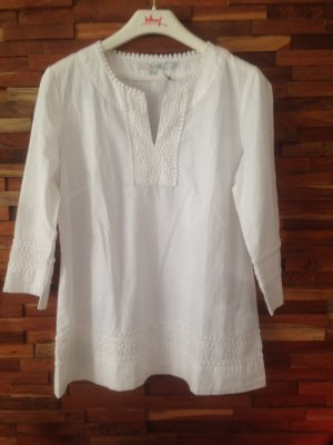 Boden Slip-over Blouse white