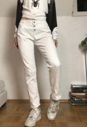 Jean Pascale Boot Cut Jeans white