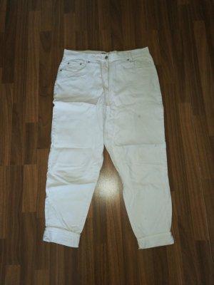 Green World Jeansy typu boyfriend w kolorze białej wełny Bawełna
