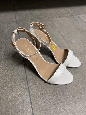Weiße Brautschuhe oder Sandaletten Gr.38 NEU