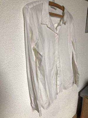 Weiße Business Bluse