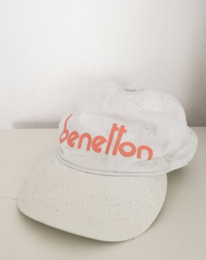 Benetton Baseball Cap multicolored mixture fibre
