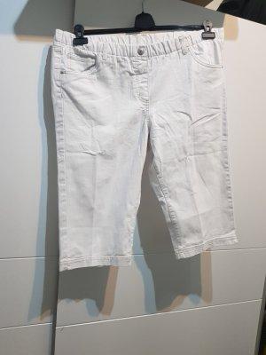 Esmara Spodnie Capri biały